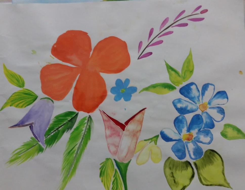 Watercolor Paint,Flora,Art