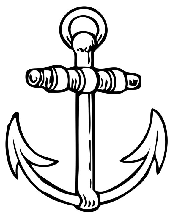 Stockless Anchor Download Boat Free Commercial Clipart