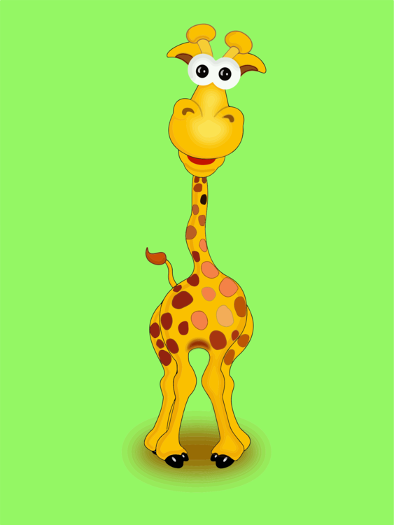 Giraffidae,Vertebrate,Yellow
