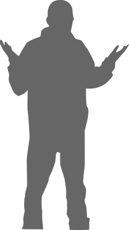 Standing,Shoulder,Silhouette