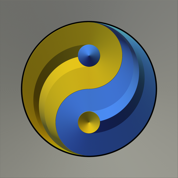 Blue,Symbol,Yellow