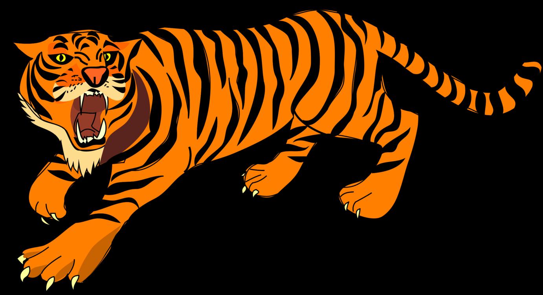 tiger roar cartoon drawing free commercial clipart tiger lion rh kisscc0 com Elephant Clip Art Bengal Tiger Food