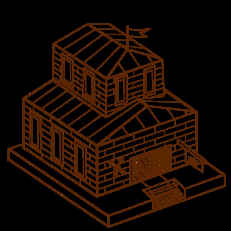 Building,Line Art,Shed