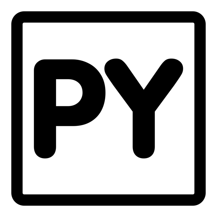Python Computer Icons @Source Py Inkscape PDF CC0 - Area,Text,Brand