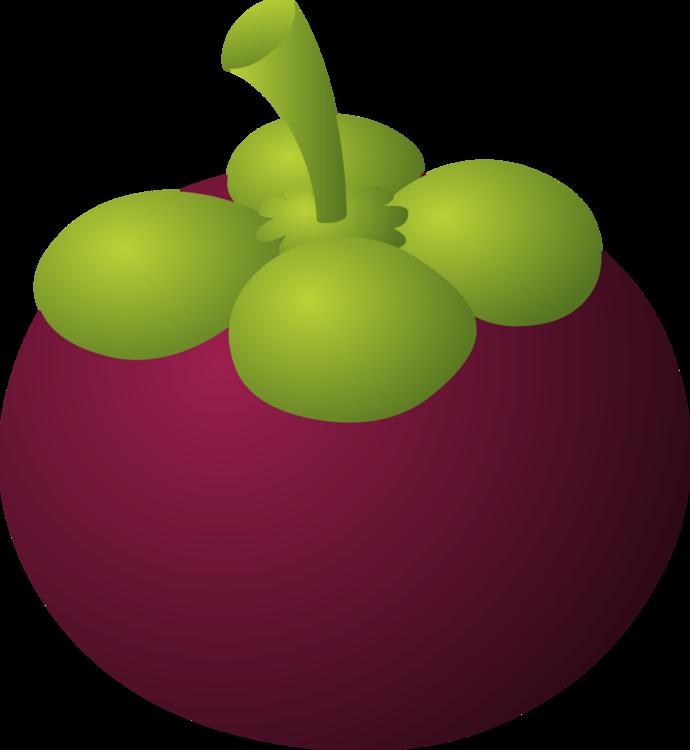 Purple Mangosteen Art Fruit Drawing Cc0 Leaf Apple Food Cc0 Free