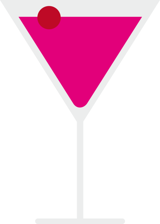 Pink,Martini,Martini Glass