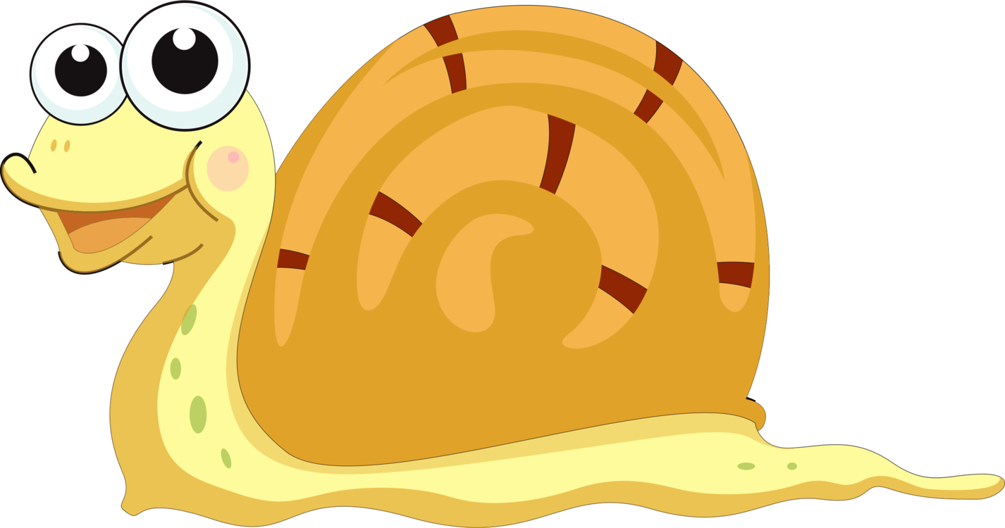 Snail,Yellow,Snails And Slugs