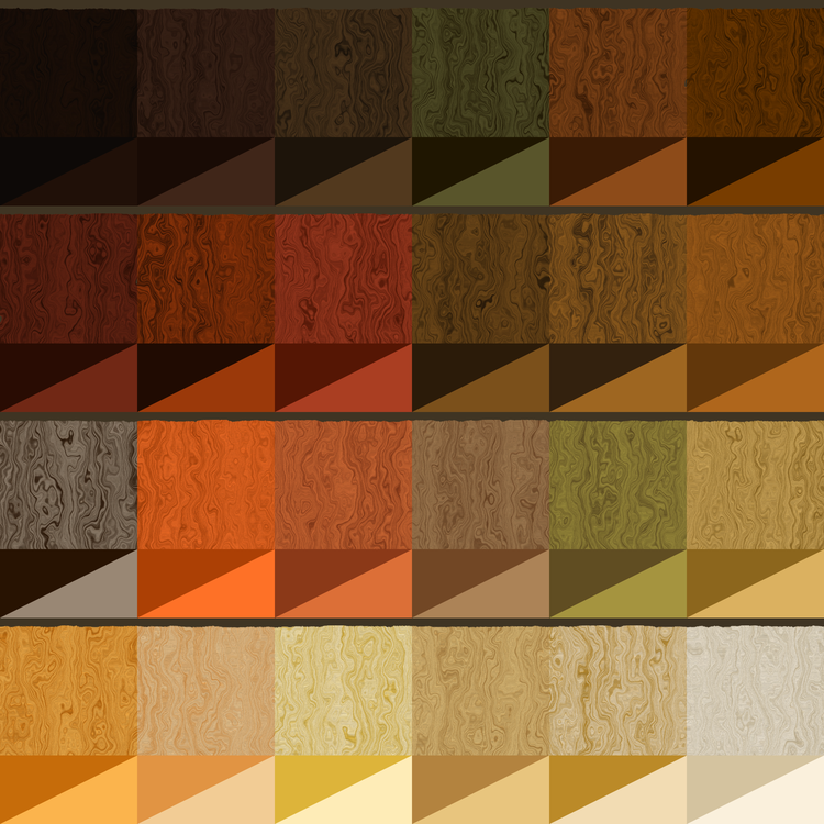 Wood Stain Color Chart Grain