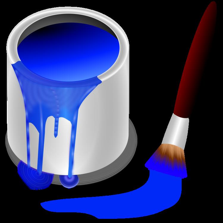 Cobalt Blue,Brush,Electric Blue