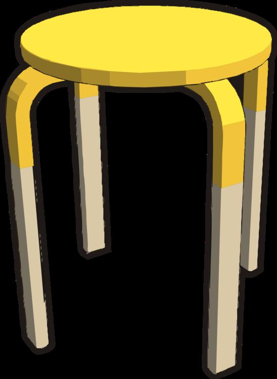 Angle,Stool,Yellow
