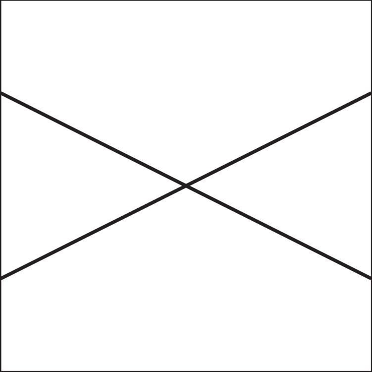 Symmetry Triangle Point Line art