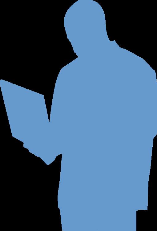 Blue,Shoulder,Silhouette