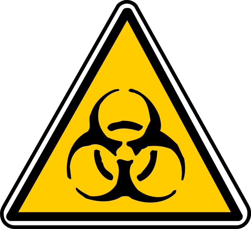 biological hazard hazard symbol warning sign safety free commercial