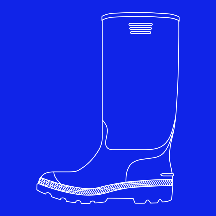 Blue Boot Clip Art - Png Download - Full Size Clipart (#1373384) -  PinClipart