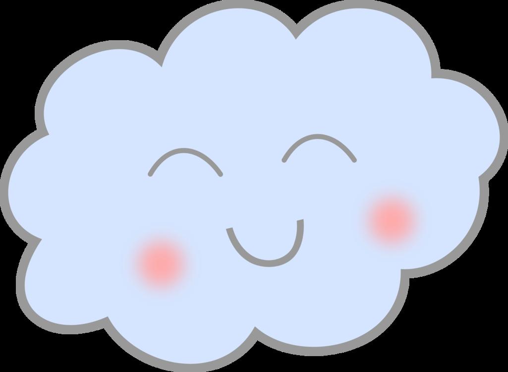 Cloud Computer Icons Smiley Rain Cc0 Pinkheartlove Cc0 Free