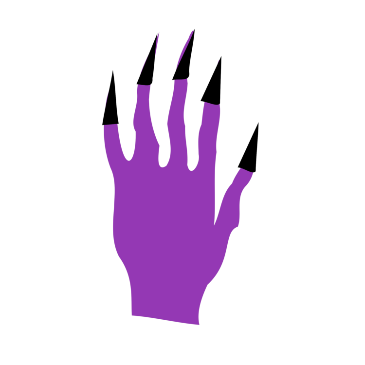 Thumb,Purple,Hand