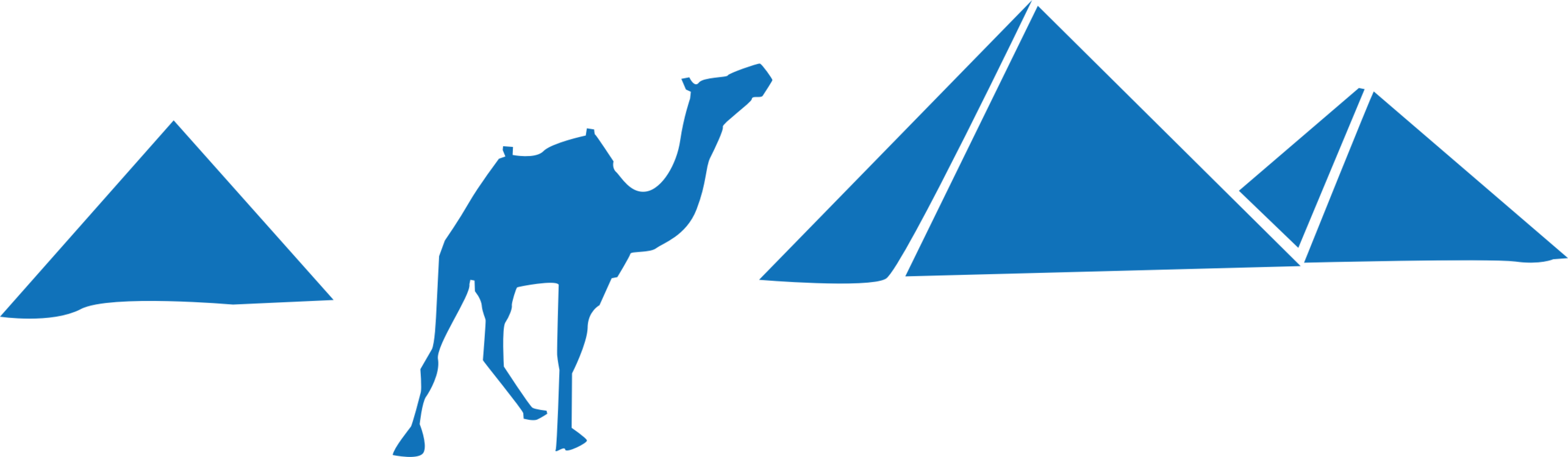 Blue,Silhouette,Triangle