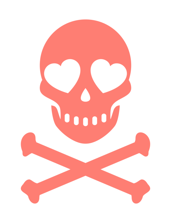 Skull And Bones Skull And Crossbones Human Skull Symbolism Decal