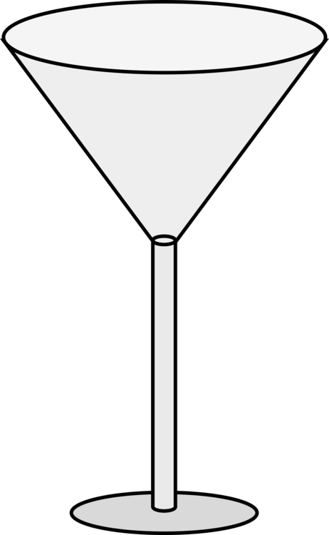 Line Art,Champagne Stemware,Martini Glass