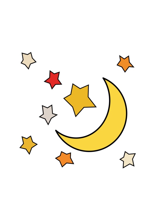 Star And Crescent Moon Computer Icons Lunar Phase Free Commercial