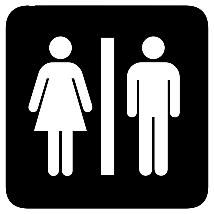 Unisex Public Toilet Bathroom Sign Free Commercial Clipart Public Simple Unisex Bathroom Signs