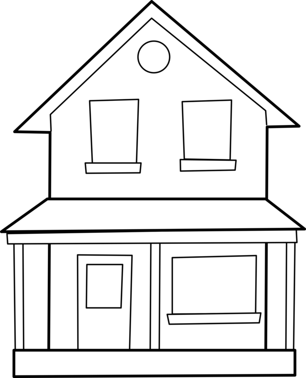 Line Art,Shed,Square