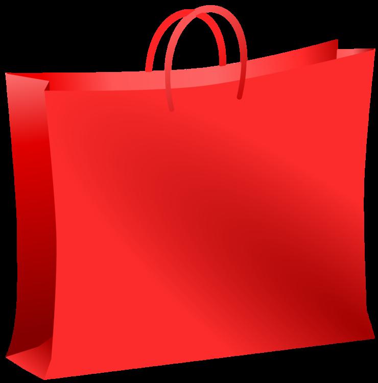 Shopping Bag,Red,Handbag