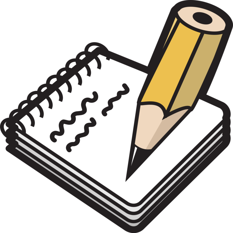 Notebook Paper Pencil Computer Icons Drawing Free Commercial Clipart