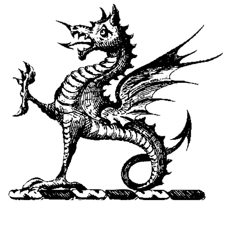 Драконы в картинках графические