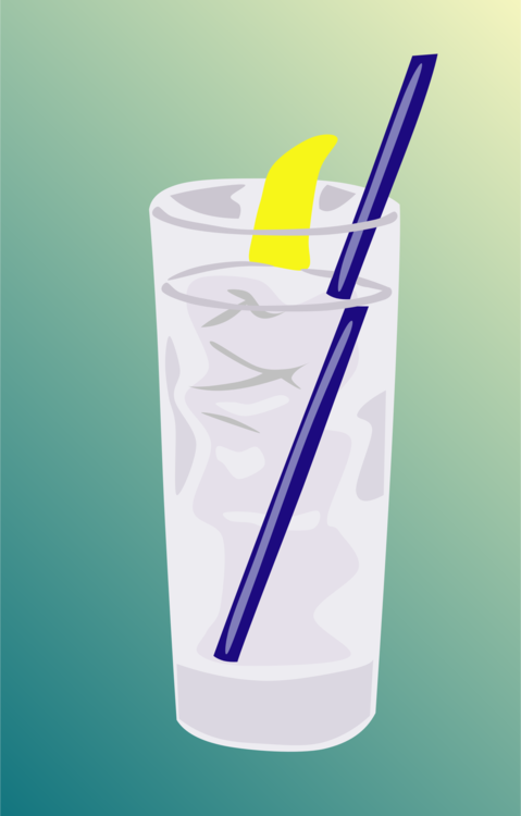 Glass,Drinking Straw,Water