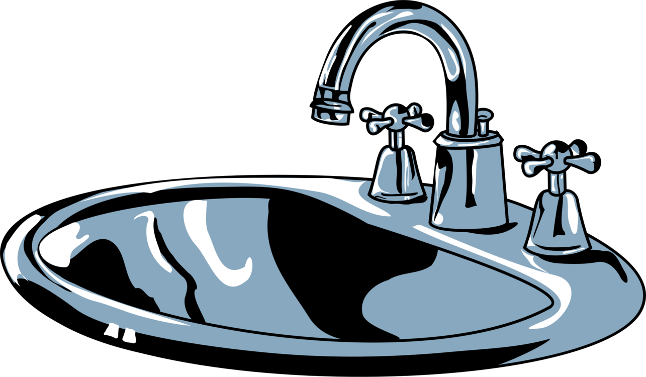 kitchen sink Tap Bathroom Cleaning free commercial clipart - Sink ...