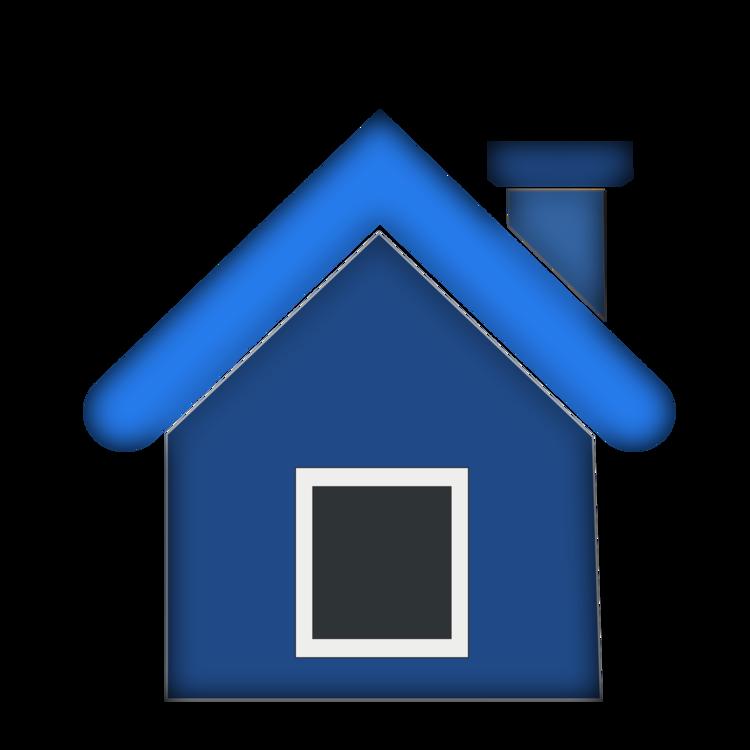 Blue,Angle,House