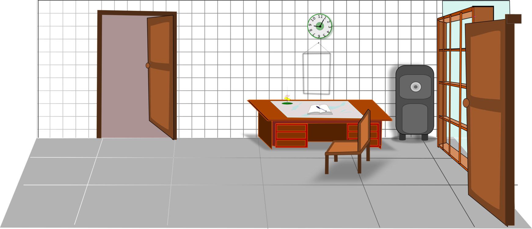 Antigo Computer Icons Interior Design Services Floor Cartoon Free