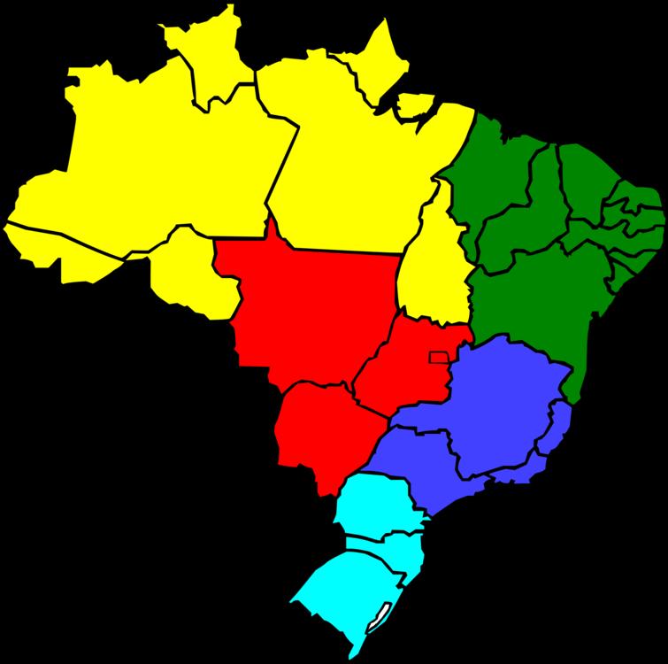 Flag Of Brazil Vector Map Free Commercial Clipart Brazil Map World