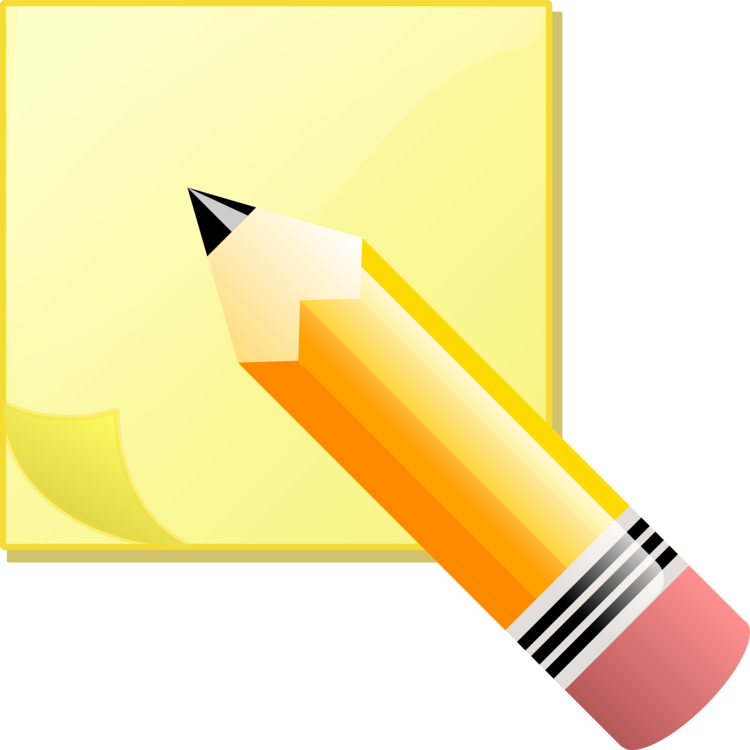 Post It Note Printing And Writing Paper Notebook Pencil Free