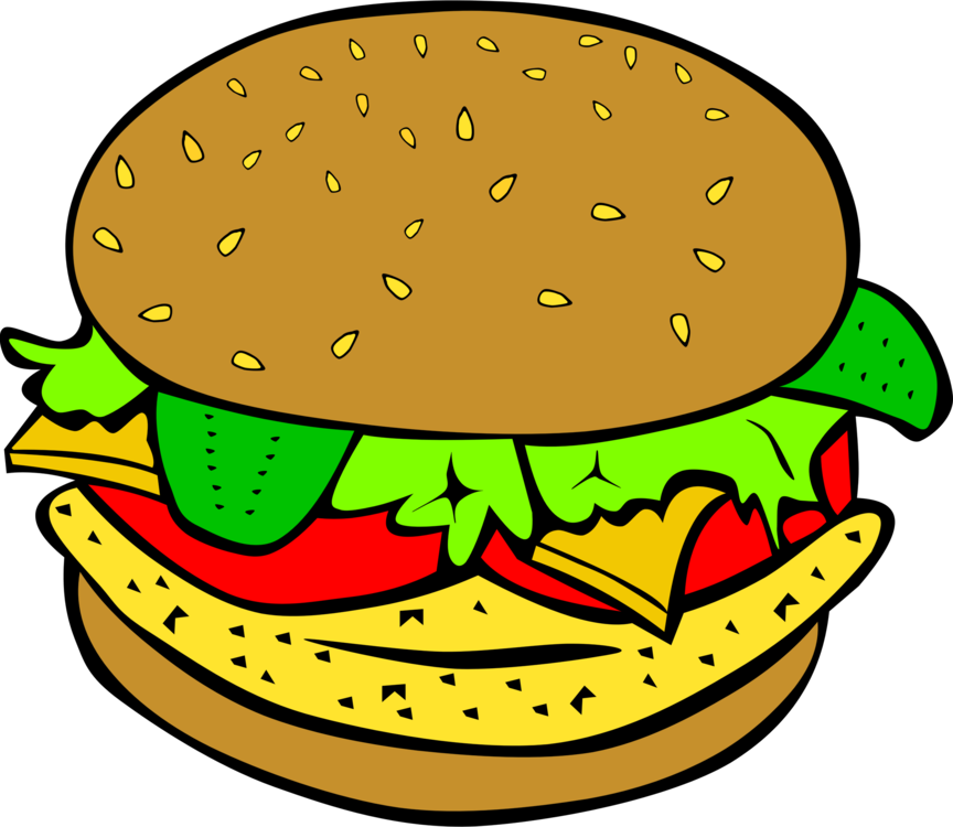 Hamburger,Food,Artwork