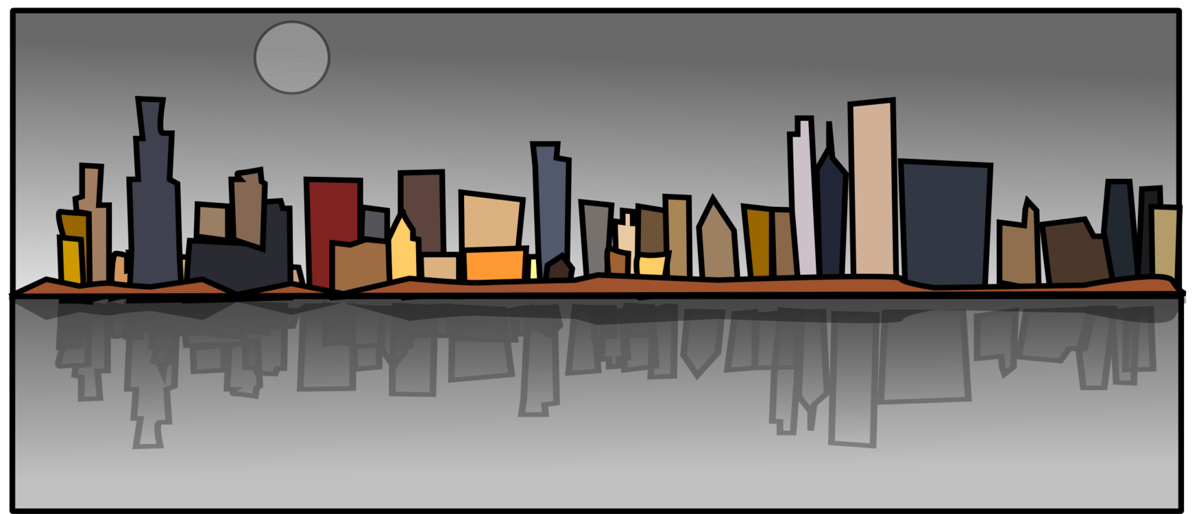 City,Skyline,Metropolis