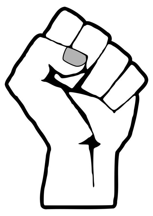 Raised Fist United States Black Power African American Civil Rights
