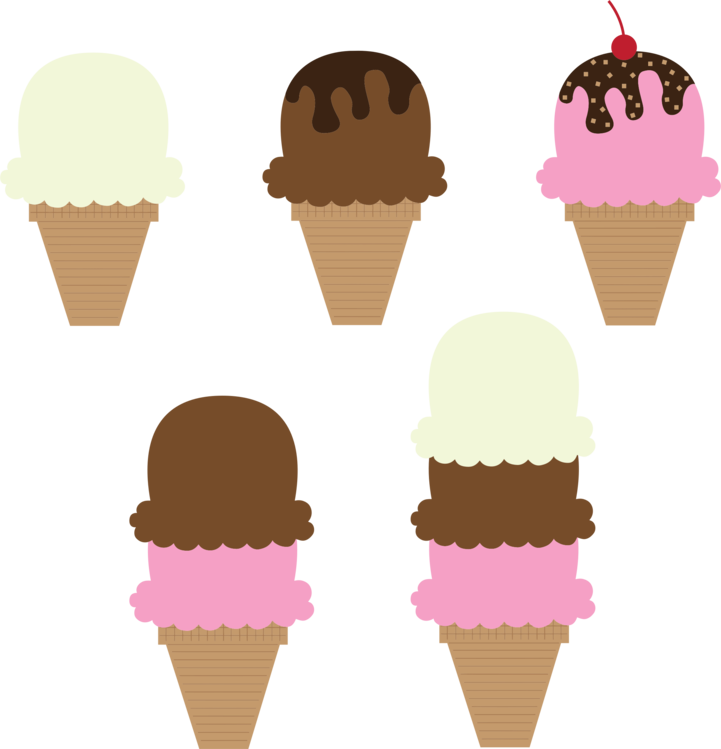 Dairy Product,Ice Cream Cone,Food