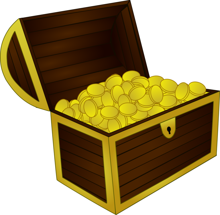 Treasure,Buried Treasure,Chest