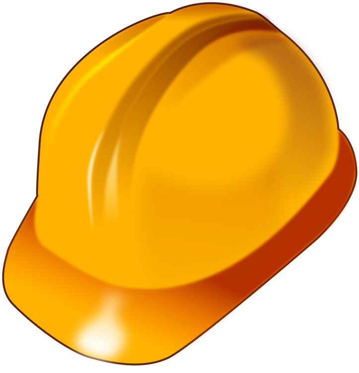 Yellow,Hard Hat,Personal Protective Equipment