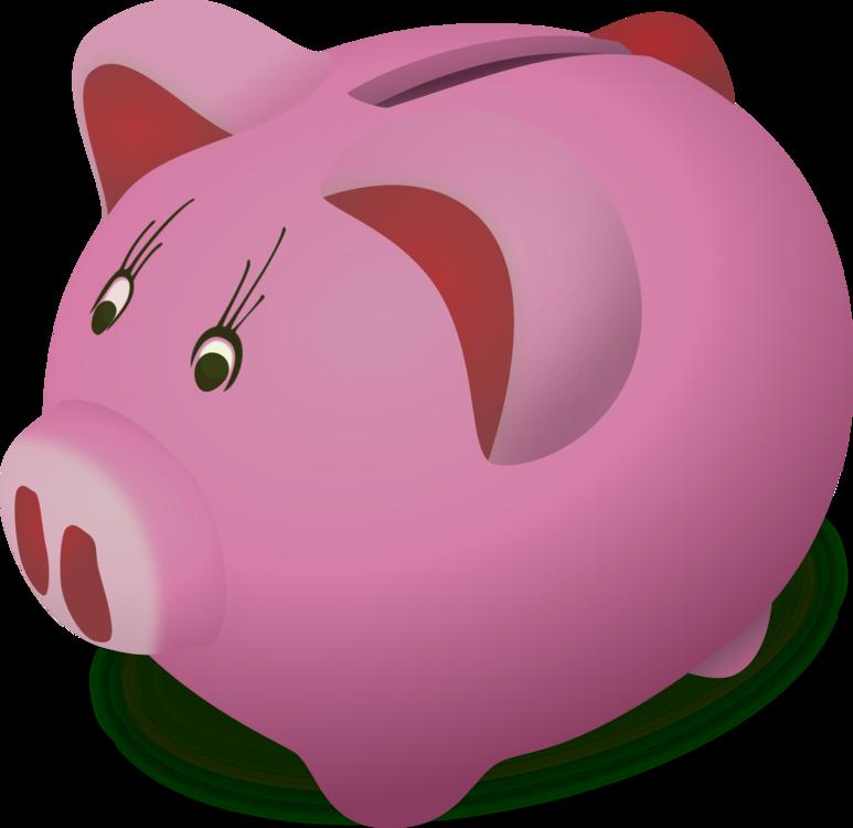 Pink,Piggy Bank,Pig