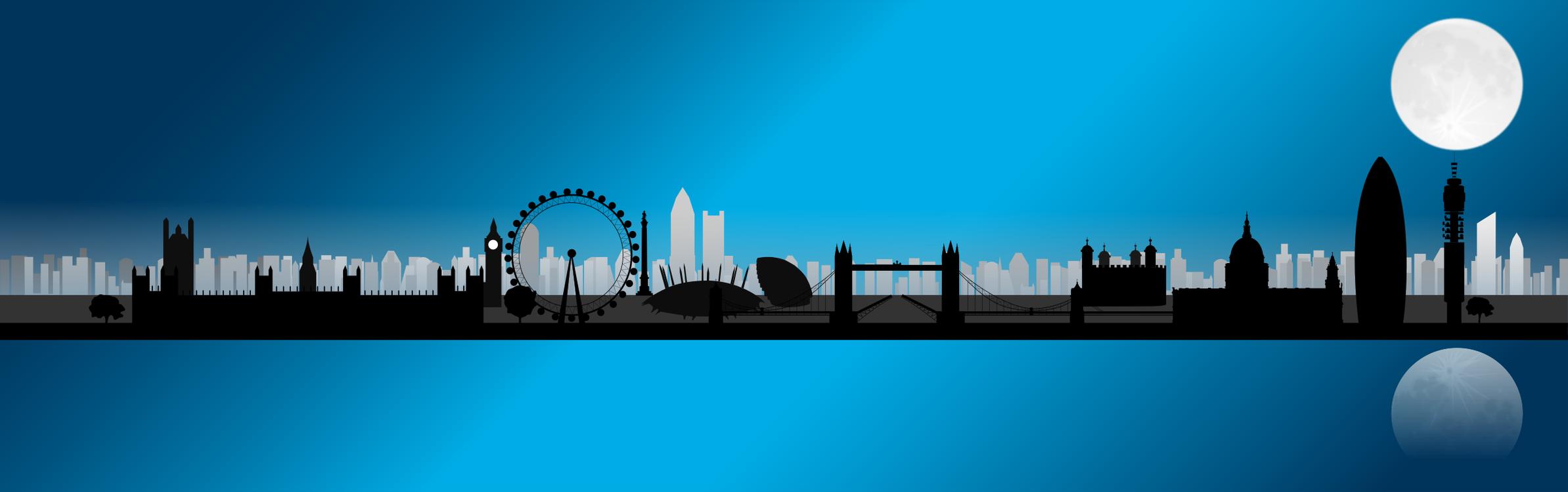 Blue,City,Metropolis