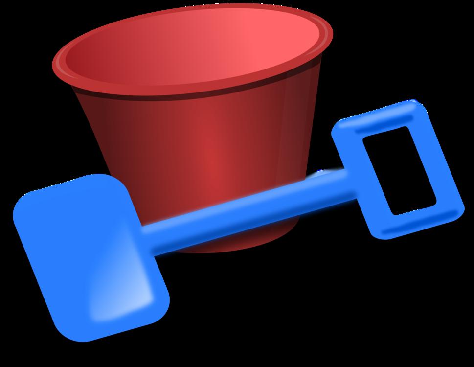 Plastic,Bucket And Spade,Bucket