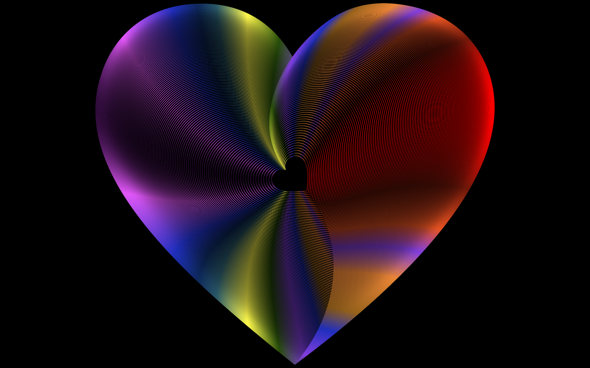 Heart,Close Up,Fractal Art
