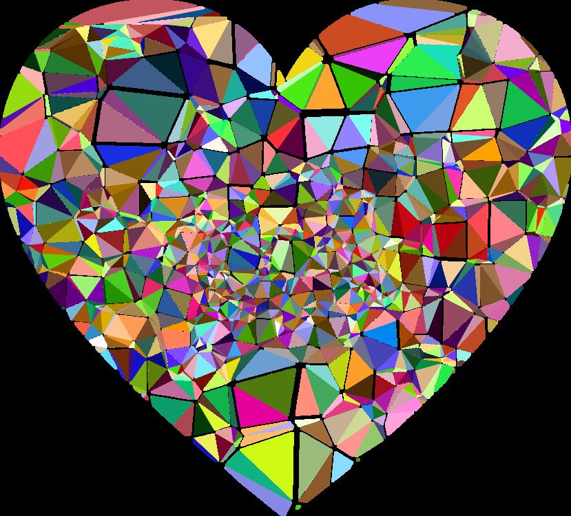 Heart,Triangle,Symmetry