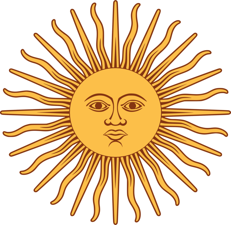 Flag of Argentina Sun of May