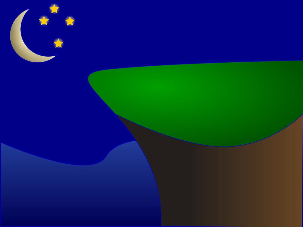 Cartoon Moon Night Sky Background in 2020 | School wall art, Moon and stars  wallpaper, Night skies