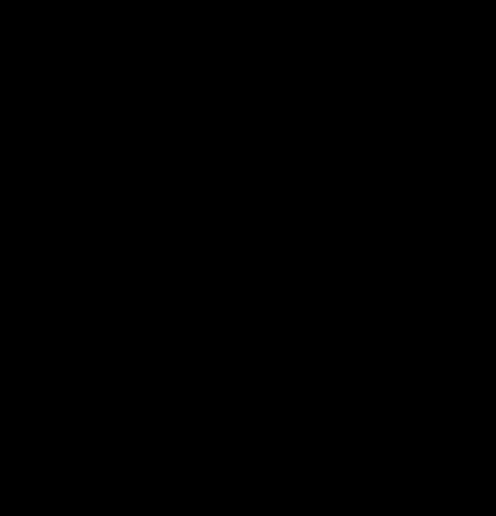 Black Cat Silhouette Stencil