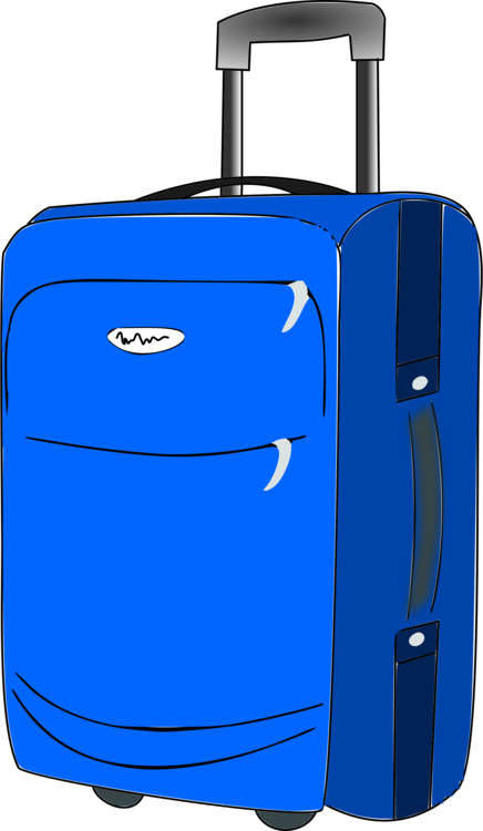 baggage suitcase travel hand luggage free commercial clipart rh kisscc0 com clipart luggage label luggage clipart png